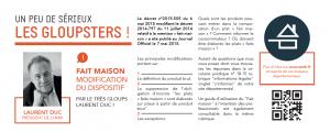Read more about the article Fait maison – modification du dispositif