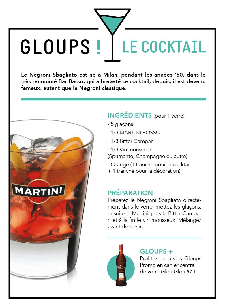 Negroni Sbagliato by Martini