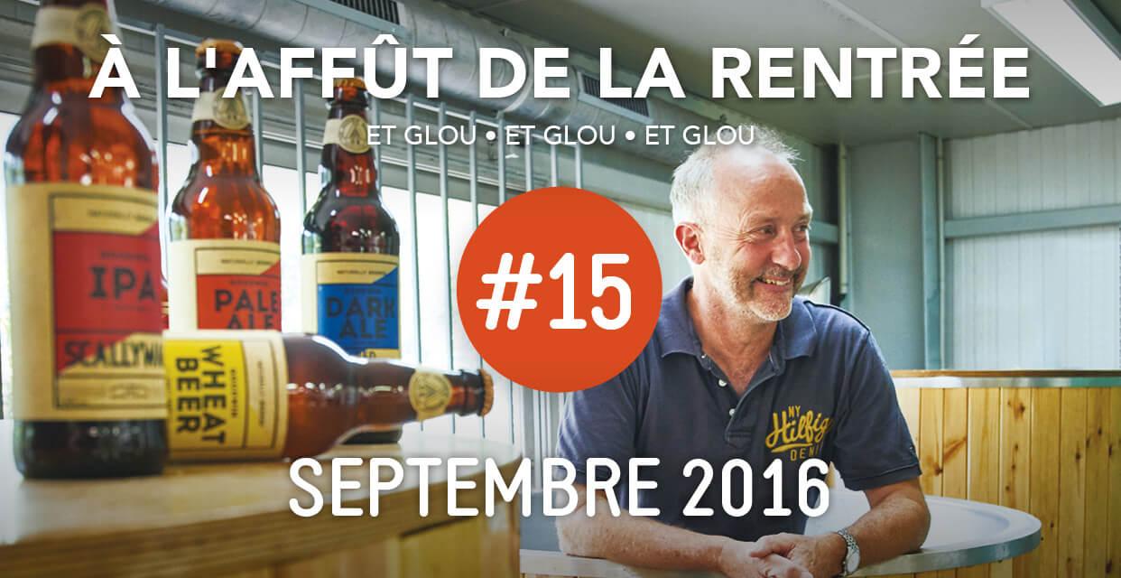 Read more about the article À l'affût de la rentrée avec Glou Glou #15