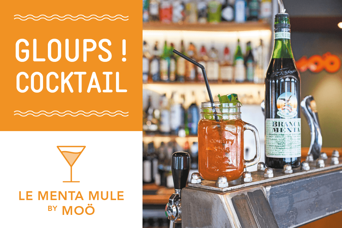 Read more about the article Cocktail Menta Mule by Moö
