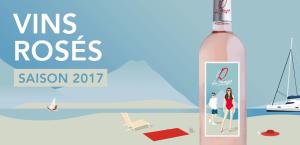 Read more about the article Catalogue des vins rosés 2017