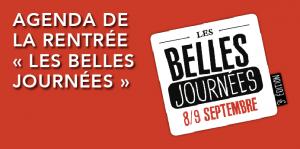 Read more about the article Agenda de la rentrée – Festival Les Belles Journées