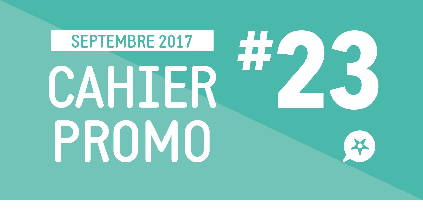 CAHIER PROMO SEPTEMBRE 2017