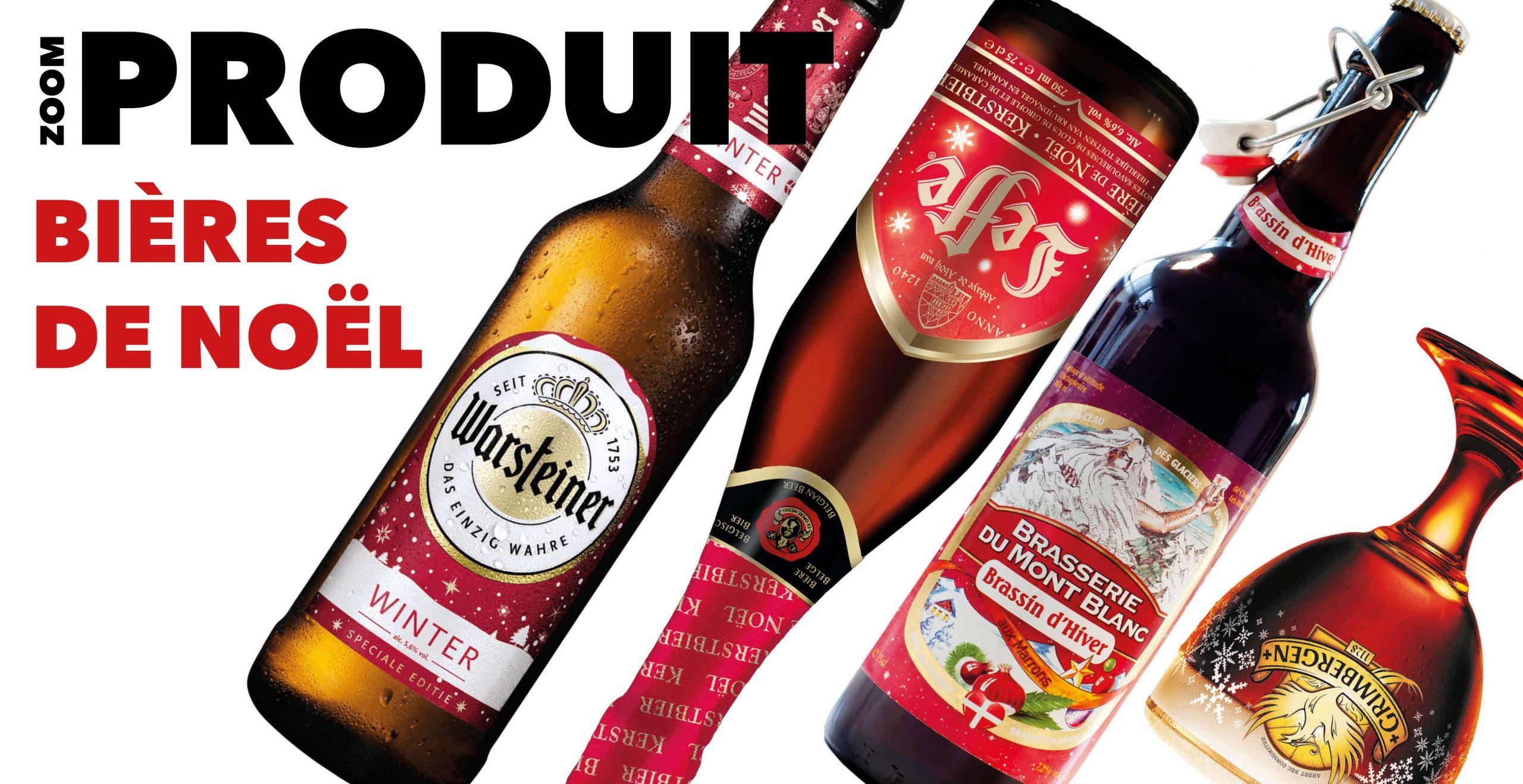 Read more about the article ZOOM PRODUIT : les bières de Noël