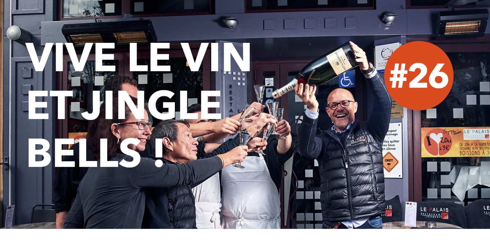 Read more about the article Vive le vin et jingle bulles