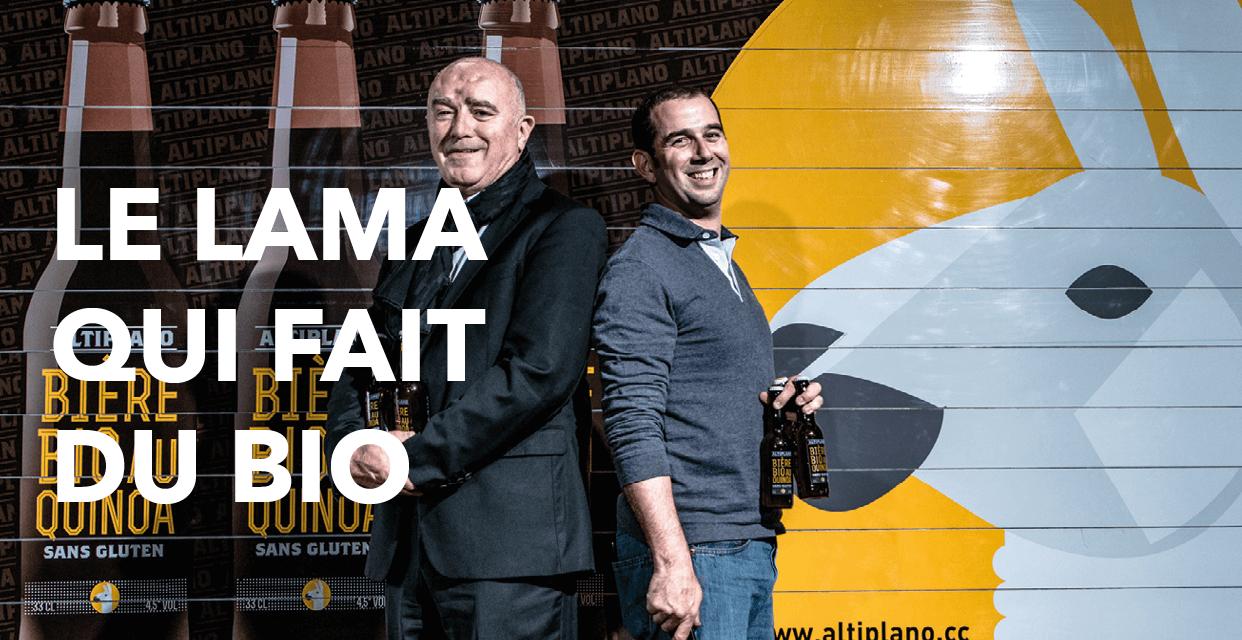 Read more about the article Le lama qui fait du bio !
