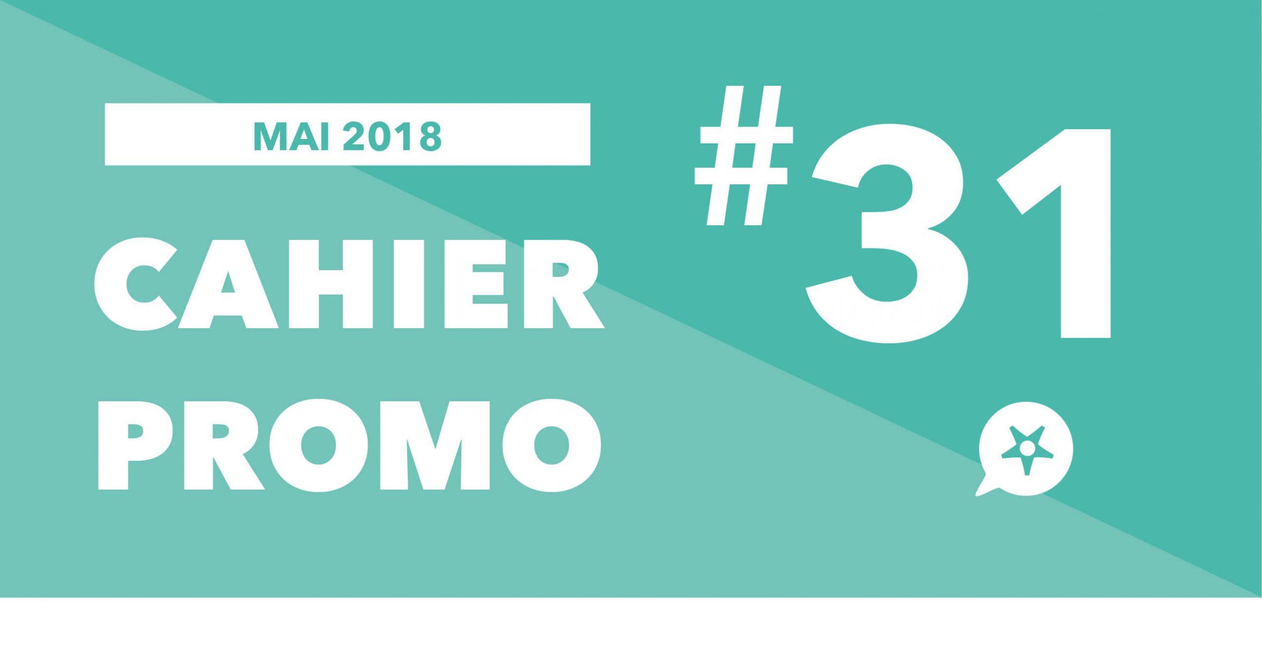 CAHIER PROMO MAI 2018