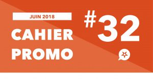 Read more about the article CAHIER PROMO JUIN 2018