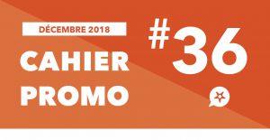 CAHIER PROMO DÉCEMBRE 2018