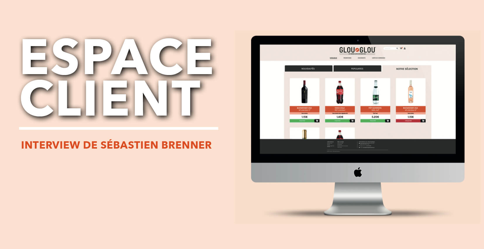 Read more about the article NEW : Espace Client
