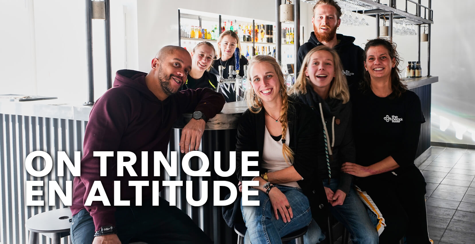 You are currently viewing On trinque en altitude
