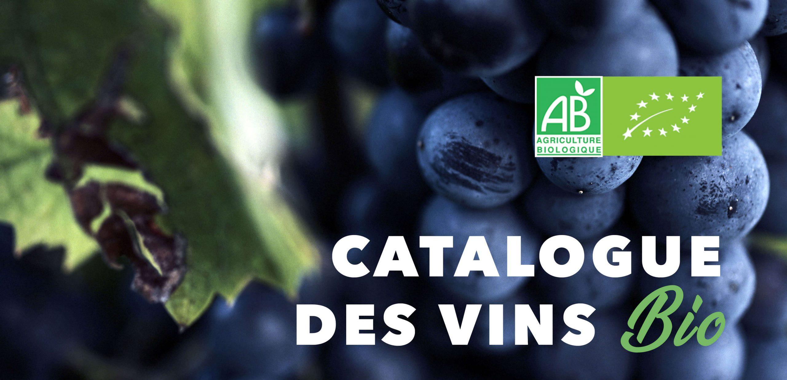 Read more about the article Catalogue des vins bio