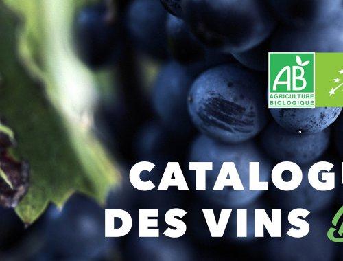 Catalogue des vins bio