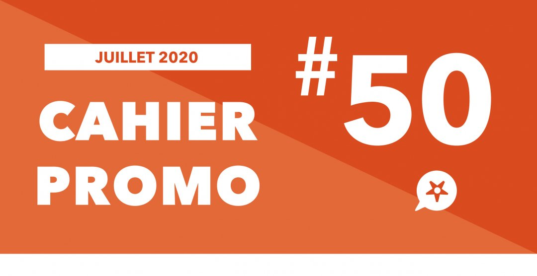 Cahier promo 50 Juillet 2020