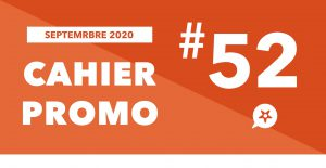 Read more about the article CAHIER PROMO SEPTEMBRE 2020