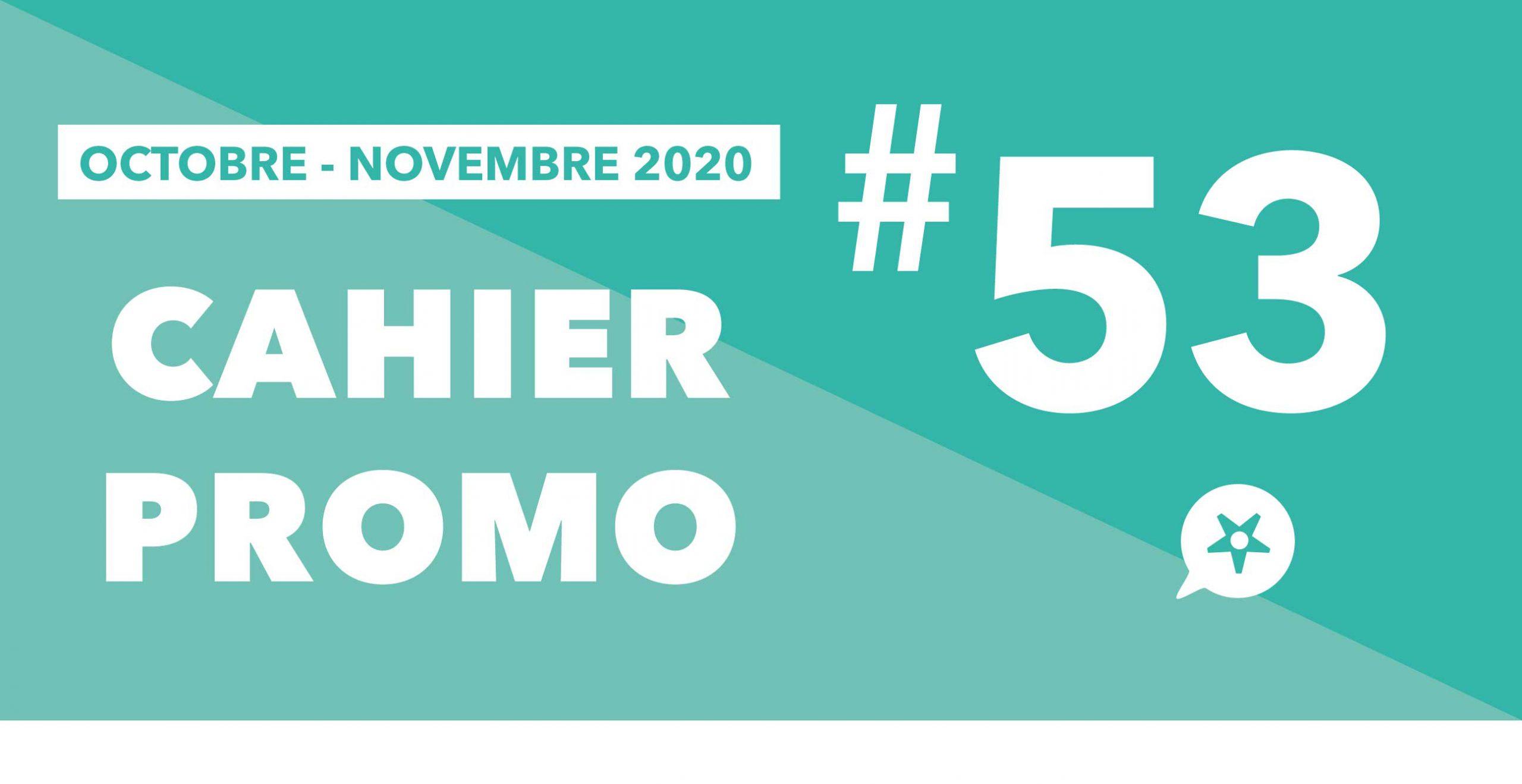 Read more about the article CAHIER PROMO OCTOBRE NOVEMBRE 2020